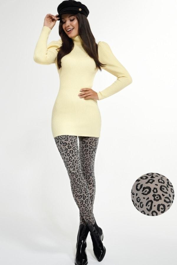 Rajstopy Leopard